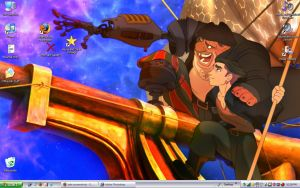 LOL TREASURE PLANET WALLPAPER by TheSylverLining