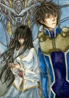 Gundam 00 ACEO - Always... by elektroyu