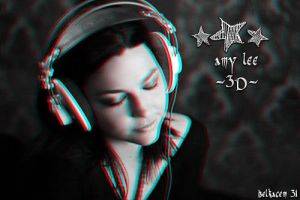amy lee from evanescence (3d) by belkas31
