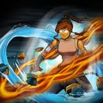 Legend of Korra - Master of the Elements by AnikeArmen