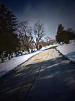 Road In The Graveyard by 1JesusOfSuburbia