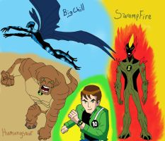 Ben 10 Alien Force My top favs by AvatarRaptor