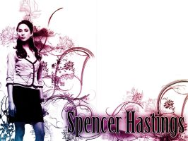 Spencer Hastings - Wallpaper by me969