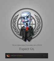 No to Cybercrime Prevention Act Mascot Design by LanotDesign