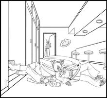 PH: COLLAB: Welcome to your new home -lineart by Bulbiekins
