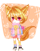 .::Shy Squirrel : FREE RAFFLE ADOPT::. CLOSED by Inepto
