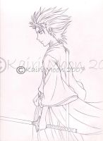 Hitsugaya - sketch by Kairi-Moon