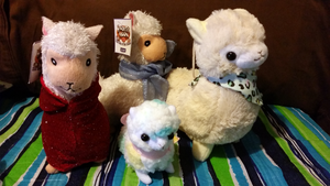 Alpaca Family by WanNyan