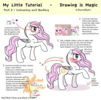 My Little Tutorial - Part 3 - Colouring and Shadin by VegemiteGuzzler