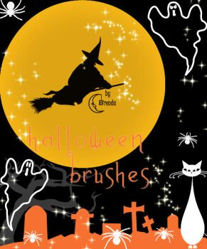 Halloween Brush Pack by Coby17