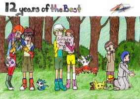 12 Years of the Best by digital-piece