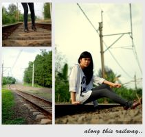 along this railway by distyy