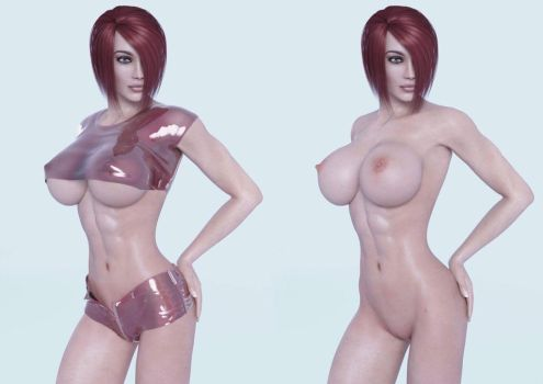 Shay's Sexy Six Pack by SithPorn