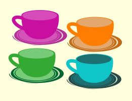 Coffee Cups by smallrinilady