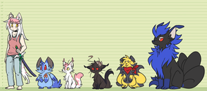 YQ - Chapter 1 height chart by ClefdeSoll