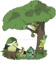 Pokemon -  Grass by tora-tigre