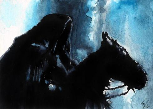Nazgul ACEO by AmandaTolleson