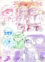 Colorful Doodlerss by Ninja-Noodles