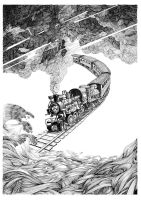 the train by weila9
