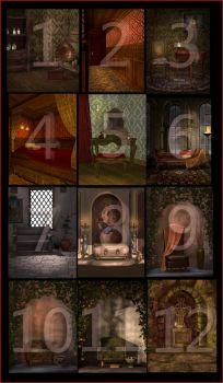 Contest Stock 1 - 12 by PaperDreamerArt