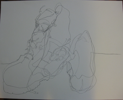 Blind Contour - Shoes by empy3