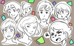 CS6 doodles by KittyCouch