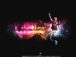 Nemanja Vidic Wallpaper by Dynamic7