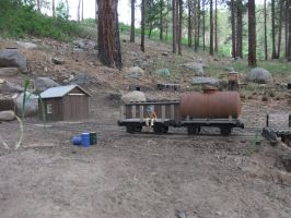 Burro Ridge Mine freight cars by SouthwestChief