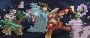 PKMN Team HeartGold vs the MissingNo
