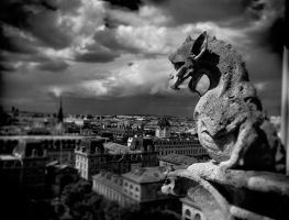 Gothic Paris by dogeatdog5