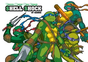 TMNT shell shock cover by zaionic