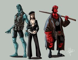 BPRD members by clefchan