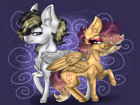 [AT.] Fantastic Duo by MLPloverDash