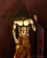 Pyramid Head by Minjanna