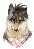 Cassius headshot by stefi-heartlilly