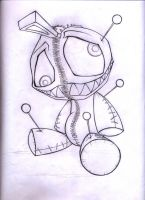 AlexLinear Voodoo Doll by AbrahamGart