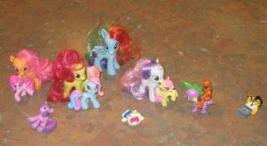 Toys Playing With Toys by CheerBearsFan