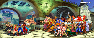 finalfight heroes and villains by crowbrandon