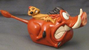Timon and Pumbaa by RandomCollectibles