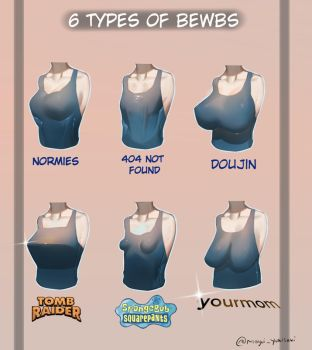 6 Types Of BoObz by MayuiChan17
