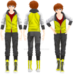 [MMDOC] Lucas (Casual) by Rozz-a