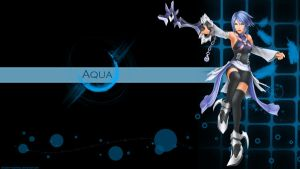 Kingdom Hearts Aqua WP by Shadow-Heartless