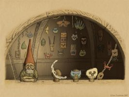Gnome Mask Shop by EricT
