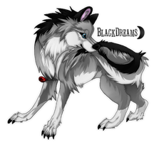 Silver-fang - Commission by Nereiix