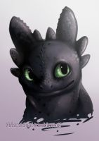 Toothless. by jamm3rs