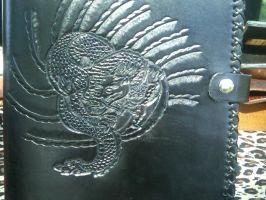 Asian Dragon Journal by FattDaddyLeather