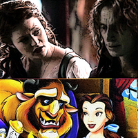 Skin Deep : Rumpelstiltskin and Belle by ViolaSerpeverde