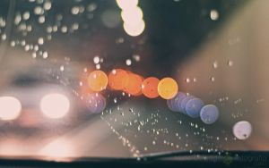 rainy drive by nmdelgado