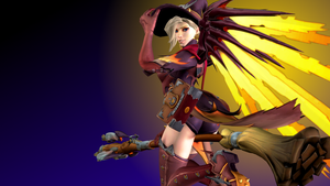 Overwatch (9c - Witch Mercy) by AdeptusInfinitus