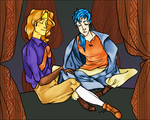 Rennac and Colm by norree
